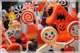 Halloween Blow Molds 2015 by These Guys Turn Christmas Decorations Into Horror Ornaments