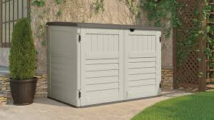 Suncast Horizontal Storage Shed Assembly by 70 Cu Ft The Stow Away Horizontal Shed Suncast Corporation