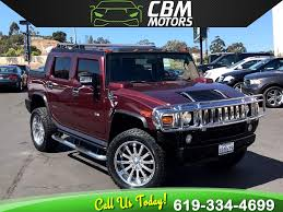 100 Hummer H2 Truck Sold 2006 HUMMER SUT LOW MILES W LOCKING SLIP DIFF BACK UP CAM