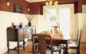 Old Fashioned Red Dining Room Paint Colors