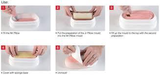 White Nonstick Mr Pillow Mold