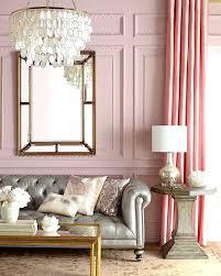 Baby Pink Living Room Light Ideas