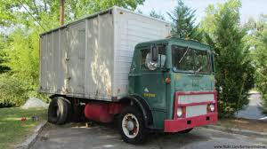 Vintage Mack MB Box Truck - YouTube