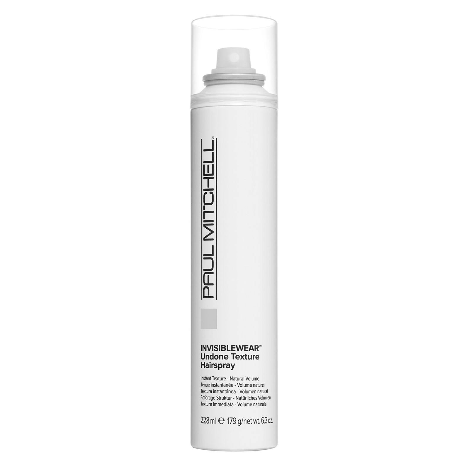 Paul Mitchell Invisiblewear Undone Texture Hairspray - 6.3oz