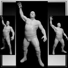 Wwe Goldust Curtain Call by Big Show Figure I Sculpted For Wwe And Jakks Pacific He Is Part