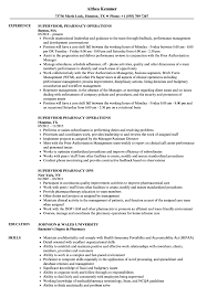 Download Supervisor Pharmacy Resume Sample As Image File
