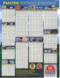 Derksen Sheds San Antonio by Derksen Buildings Pricing Portable Building Pricing