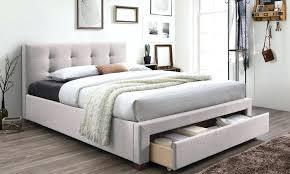 King Platform Bed With Fabric Headboard by Top Rated King Platform Bed No Headboard Contemporary Headboard