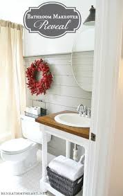 Cottage Farmhouse Bathroom Makeover