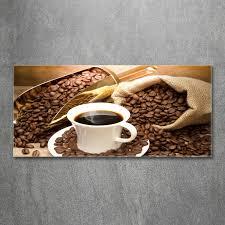 huis wandbild glasbild acrylglasbild für küche tassen kaffee
