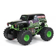 100 Monster Jam Toy Truck Videos Shop New Bright 124 Remote Control Grave Digger Free