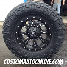 18x9 Fuel Krank D517 Black - 35x12.50r18 Nitto Trail Grappler ... Fuel D239 Cleaver 2pc Gloss Black Milled Custom Truck Wheels Rims Offroad Wheel Collection Off Road Regarding Car Ford F150 On 2piece Rampage D247 California My Lifted Trucks Ideas Pinatubo By Rhino Utv Hostage Iii D568 Matte Anthracite With 18in Trophy Exclusively From Butler Tires