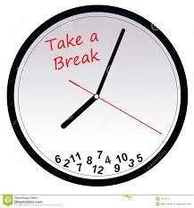 Break Time Cheer Clipart 1