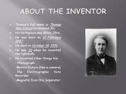 it was edison who invented the lightbulb he was neither
