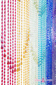 Beaded Door Curtains Walmart by Bamboo Doorway Beads Door Curtains Ikea Raindrops Rainbow