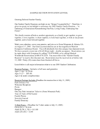 2017 Invitation Letter Sample Fillable Printable PDF & Forms