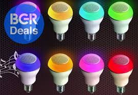 these smart led bulbs built in bluetooth speakers bgr
