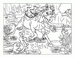 Bella Sara Fiona Printable Coloring Pages Extra Page
