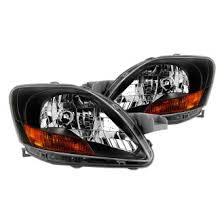 2008 toyota yaris custom factory headlights carid