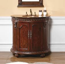 Ebay Bathroom Vanity With Sink by 37 Inch Single Sink Bathroom Vanity With Antique Gold Glass Top