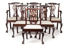Lot 305 - SET OF SIX GEORGE III STYLE MAHOGANY DINING Details About L47870ec Set Of 10 Kindel Winterthur Collection Ball Claw Ding Chairs Acme 60012 Dresden Side Chair Cherry Oak Finish Of 2 Pair Henredon And Mahogany Chippendale Beautiful Imbuia Ball And Claw Ding Room Suite For Sale Gorgeous Rooms Solid Walnut Extending Table Large Foot Wood Style 7 L47606ec 8 Baker Ding Chair With Ball Claw Feet In 2019 Antiques World 85 Best Room Decorating Ideas Country Decor W6 Upscale Consignment