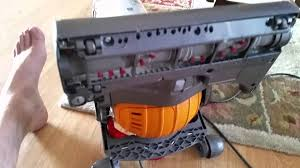 Dyson Dc41 Hardwood Floor Attachment by Dyson Vacuum Fix Hard To Push Through Thick Carpet Youtube