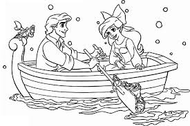 Disney Princess Coloring Pages To Print Ariel Printable