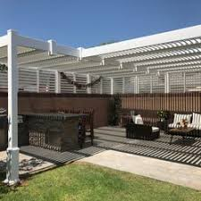 Louvered Patio Covers San Diego by Gng Vinyl Fencing U0026 Patio Covers 98 Photos U0026 146 Reviews
