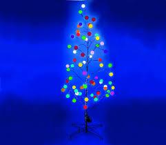 Black Fiber Optic Christmas Tree 7ft by Festive 1 20m 4ft Black Bare Stem Fibre Optic Twig Tree With