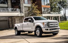 Ford F-450 Limited Is The $100,000 Truck Of Your Dreams | Fortune Ford Says Electric Vehicles Will Overtake Gas In 15 Years Announces Tuscany Trucks Mckinney Bob Tomes Where Are Ford Made Lovely Black Mamba American Force Wheels 7 Best Truck Engines Ever Fordtrucks 2018 F150 27l Ecoboost V6 4x2 Supercrew Test Review Car 2019 Harleydavidson Truck On Display This Week New Ranger Midsize Pickup Back The Usa Fall 2017 F250 Super Duty Cadian Auto Confirms It Stop All Production After Supplier Fire Ops Special Edition Custom Orders Cars America Falls Off Latest List Toyota Wins Sunrise Fl Dealer Weson Hollywood Miami
