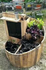 Free Pallet Planter Box Plans Garden Ideas Diy