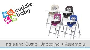 High Chair Unboxing - The Inglesina Gusto Highchairs Baby Activity Nursery Direct Glesina Gusto Highchair Inglesina Usa Cam Seggiolone Gusto High Chair White Nuna Zaaz Highchair Graphite Black 4moms In Whitegrey Demo Chair 71vyiligl Sl1500 Cheap Amazon Com Pipa Series Insert Highchair Fast And Easy Adjustable For The Modern Family Removable