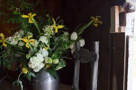 I Love The Floral Arrangements In Dining Room Upstairs
