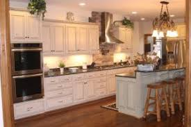 Rustic KitchenRustic Kitchen Cabinets With White Shaker Graceful Labeled In Off