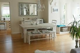 esstisch stühle bank landhaus rafael landhausmöbel weiß holz kiefer massiv ebay