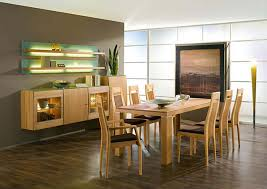 Modern Dining Room Sets Large Glass Window Front Chic Hanging Bulb Light Nice Fabric Sliding Curtains Windows Likable Red Fur Rugs Long Grey Curtain Gold