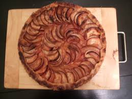 The Dough Came Together Easier Than By Hand And Whole Tart Looked Rather Nice With Its Spiraled Delicate Apple Slices But I Just Dont Think Theres
