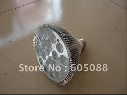 18x1w e27 bridgelux high power led spot lighting par38 led bulb