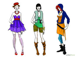 How To Draw Fashion Illustrations 6 Steps With Pictures