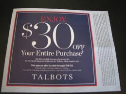 Talbots Coupon Discount $30 Off Entire Purchase In Store ... 50 Off Talbots Coupons Promo Discount Codes Wethriftcom Dealigg Coupons Helpers Chrome The Perfect Cropchambray Top Savings Deals Blogs Dudley Stephens New Releases Coupon Code Kelly In The City Batteries Plus Coupon Code Discount 30 Off Entire Purchase Store Macys 2018 Chase 125 Dollars