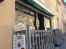 creperie du port cancale crèperie l hirondelle restaurant 116 rue port 35260 cancale