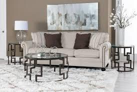 Milari Linen Queen Sofa Sleeper by 96x120 Rug Faith Shag Ivory Living Spaces