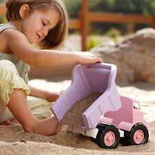 Green Toys Dump Truck - Pink Christmas Decoration