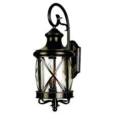 wall mounted outside lights 1 2 in bronze outdoor light view