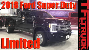 New 2018 Ford Super Duty Limited Luxury Trucks Debut In Texas - YouTube 2017 Ford F250 Super Duty Overview Cargurus 2018 Vs Denver Co In Lewes Go Further Available With A Massive 48gallon 1996 F Super Duty Flatbed Truck For Sale Portland Or 18455 2006 Used F550 Enclosed Utility Service Esu 2019 Century Dealers Maryland Trucks For Sale Near Waunakee Sd Ultimate Audio 2014 Platinum On 24x14 Fords New Pickup Truck Raises The Bar Business Srw Premier Trucks Vehicles
