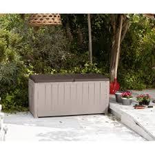 Suncast Resin Deck Box 50 Gallon by Deck Boxes U0026 Patio Storage