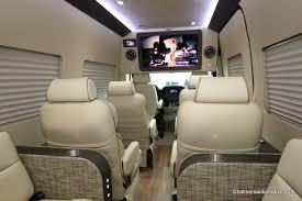 Luxury Custom Conversion Vans For Sale Mercedes Benz Sprinter 12 Passenger