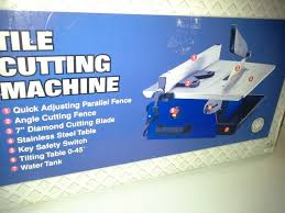 Qep Tile Saw Manual by Gb Tile Cutter Model Ctc 500 With Manual What U0027s It Worth