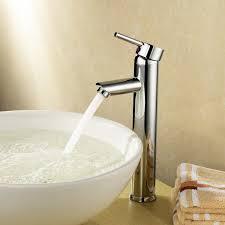 Home Depot Bathroom Faucets Chrome by Bathroom Tall Bathroom Faucet 13 Trough Sinks Home Depot
