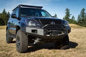 100 Front Bumpers For Trucks 200309 Lexus GX470 Winch Bumper Metal Tech 4x4